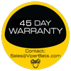 Viper Bats 30 Day Warranty Sticker