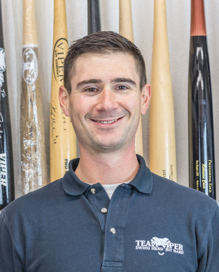 Viper Bats employee Chris