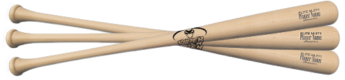 Elite 3 Pack Wood Bats