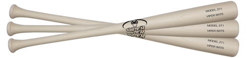Youth 3 Pack Wood Bats